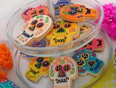 Calaveras de Día de Muertos / Calaveras cookies