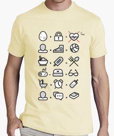Camiseta Ecuaciones CW Camiseta hombre clásica, calidad premium  18,90 € - ¡Envío gratis a partir de 3 artículos!