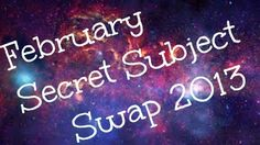 February Secret Subject Swap... step inside and become a Funteer!