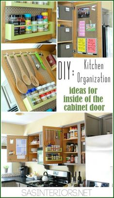 Kitchen Organization: Ideas for storage on yourhomedecoridea...