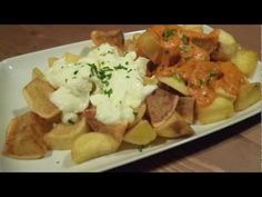 Salsa brava en Thermomix - Patatas dos salsas paso 2 - YouTube
