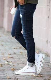 How To Wear Converse High Tops White