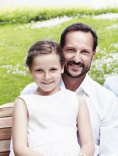 Crown Prince Haakon and Princess Ingrid Alexandra of Norway, 2013.
