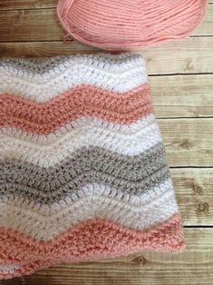 Daisy Cottage Designs Ripple Baby Blanket Crochet Pattern | Etsy