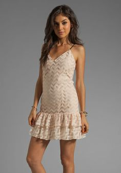 Iris off the shoulder lace mini dress