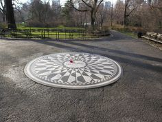 Strawberry Fields -- Central Park, New York City, New York - IMAGINE -  #education #travel