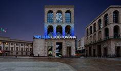 Yves Klein - Lucio Fontana. Milan Paris 1957-1962 al Museo del Novecento di Milano, un'esposizione con più di 70 opere che indaga il percorso parallelo dei due grandi artisti... http://www.milanofree.it/201411305456/eventi/mostre/yves_klein_e_lucio_fontana_al_museo_del_novecento.html