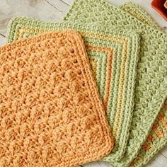 Simple Crochet Dishcloth Pattern | Etsy Crochet Slipper Pattern, Crochet Slippers, Easy Crochet, Free Crochet, Beginner Crochet, Crochet Basics, Knitting Patterns, Crochet Patterns, Crochet Stitches