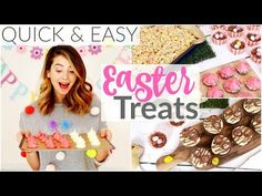 6 Quick & Easy Easter Treats | Zoella - YouTube