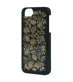 Golden Bouquet Black iPhone 5 Case / Rifle Paper Co.