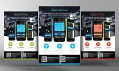 Check out Apps Flyer Template by Corporate Flyers Postcard on Creative Market