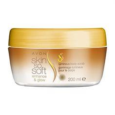 Skin So Soft Enhance & Glow Luminous Body Scrub