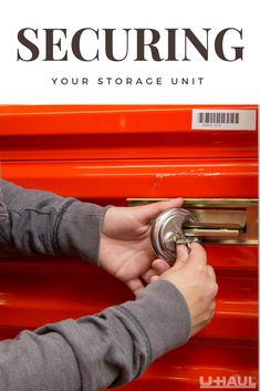 We take the security of your items VERY seriously! From alarms to locks, we offer several levels of security to protect your items. Storage Solutions, Storage Ideas, Self Storage Units, Storage Facility, Peace Of Mind, Locks, The Unit, Shed Storage Solutions, Door Latches