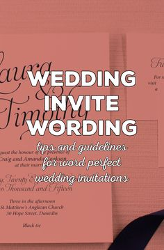 """""""How do I write my wedding invites? Wording your wedding invitations correctly really does set the stage for what your wedding guests will think and feel Beautiful Wedding Invitations, Wedding Invitation Wording, Wedding Stationery, Invites, Wedding Alcohol, Etiquette And Manners, Indian Wedding Cards, Southern Bride, Wedding Etiquette"""