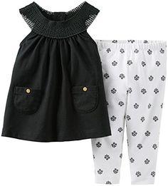 Carter\'s Baby Girls\' 2 PieceTunic Set (Baby) - Black - 3 Months Carter\'s http://www.amazon.com/dp/B00KHHGU00/ref=cm_sw_r_pi_dp_XvG2ub06J1PR3