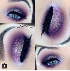 Purple glitter (Instagram _tiarni_ )