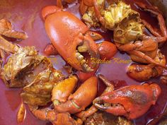 Kenzy's Kitchen Korner... : Crab Xec-Xec - Crab in Coconut Curry