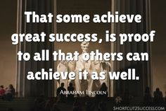 That some achieve great success, is proof to all that others can achieve it as well. Money Quotes, Business Advice, Work From Home Jobs, Helping Others, Affiliate Marketing, Quotes To Live By, Positive Quotes, Best Quotes, How To Make Money