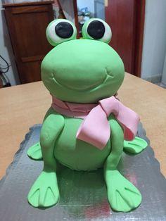 Frog cake/ un pastel de rana :)