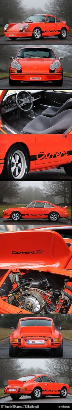 1973 Porsche 911 Carrera 2.7 RS Lightweight. Source: RM Auctions.