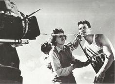 "Leni Reifenstahl directing her film ""Olympiad"", 1936"