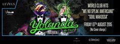Yolanda Be Cool Live in Bangkok #DJOme, #LevelsClub, #YolandaBeCool #bangkoktoday - http://bangkok.today/events/yolanda-be-cool-live-in-bangkok/