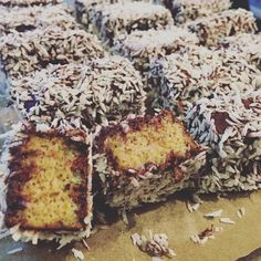 Low Carb Mini Kuchen Schneeflöckchen