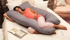 COMFYSURE Pregnancy Pillow - U Shaped Full Body Pillow for Maternity Support or Side Sleepers - Hypoallergenic, Comfortable Cushion for Pregnant or Nursing Women, Supports Back, Hips, Legs & Belly Hug Pillow, Best Pillow, Perfect Pillow, Unicorn Pillow, Bolster Pillow, Pillow Set, Pillow Covers, Best Maternity Pillow, Pregnancy Pillow