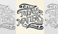 Inspirational Lettering and Illustration by Jenny Lee