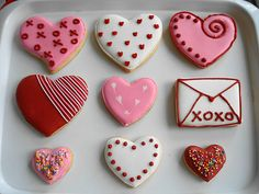 Perfect CancunCOOKIES: Valentineu0027s Cookies | Valentine | Pinterest | Heart Cookies, Cookie  Decorating And Individual Desserts