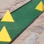 We can make custom mini golf and putt putt obstacles for you. After the purchase of the obstacles you choose, please send us the width of the minigolf lanes you are going to use them on. It will take about 10 days to have them ready for shipment. Miniature Golf, Putt Putt, Golf Courses, 10 Days, Pop, Green, Dolphins, Homemade, Popular