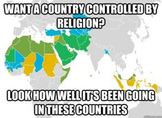 want a country controlled by religion?