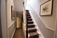 loft staircase to match existing stairs Loft Conversion Gallery, Loft Conversion Design, Loft Conversions, Loft Staircase, Stairs, Staircases, Loft Conversion Victorian Terrace, Cottage Interiors, Cottage Bedrooms