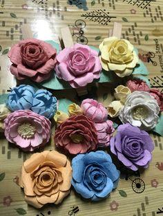 色々な花作って見ました(^.^)