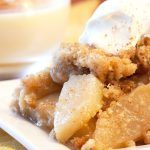 Homemade Apple Crisp Made With Cinnamon, Honey, Coconut, and Nutmeg (Gluten-Free Recipe)