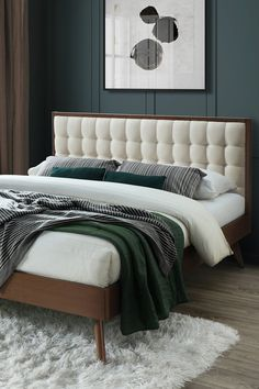 Patul Soloman contribuie la amenajarea unui dormitor confortabil și primitor, pregătit să ofere momente de relaxare deplină. #mobexpert #reduceri #wintersale #mobilierdormitor Palette, Lounge, House Design, Couch, Bedroom, Furniture, Home Decor, Houses, Chair