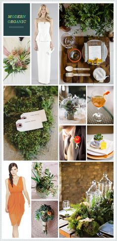 REVEL: Modern Organic Wedding Inspiration