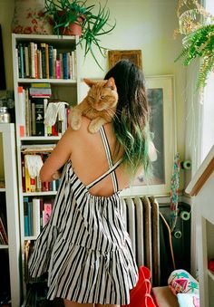 Girls and their cats | Anthology Mag