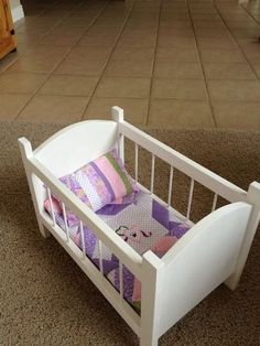 Doll crib | Do It Yourself Home Projects from Ana White
