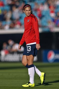 Alex Morgan, Feb. 9, 2013. (Rob Foldy/USA TODAY Sports)