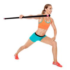 Body Bar Arm Routine..need to get me one of these too...my muscles hurt just looking at this picture but I know how effective it is!
