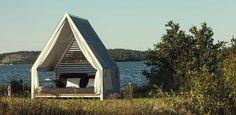 Kettal Cottage outdoor daybed shelter