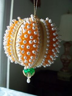 Vintage 1950's Handmade Christmas Ornament by enchantedmistdesigns, $5.95