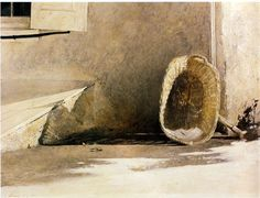 Andrew Newell Wyeth. Monday Morning, 1955