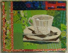 Piece O' Cake Blog: The Coffee Cup Quilt...