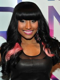 28 Nicki Minaj Hairstyles From Funky and Crazy to Simple and Sweet   Headquarters for Hair