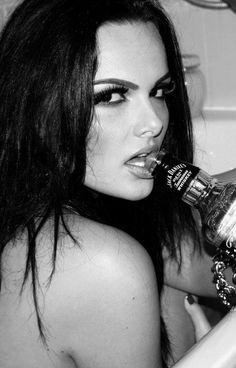 bad girl attitude... ;}