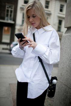 Street style at London Fashion Week Spring 2017