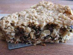 Chocolate Chip Cookie Bars, gluten free dessert recipe, gluten free cookies