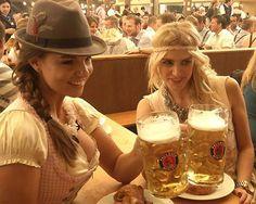Oktoberfest Outfit, Oktoberfest Beer, Anna Kraft, Octoberfest Girls, Home Brewing Equipment, Beer Girl, German Girls, Breakfast Of Champions, Happiness